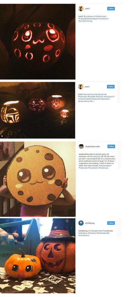 cookie instagram halloween